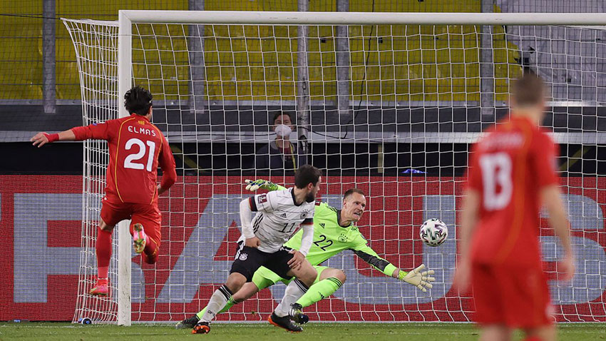 North Macedonia Won Against Germany in World Cup Qualifier